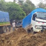 Lluvias dañan carretera Rosita-Bonanza en Caribe Norte
