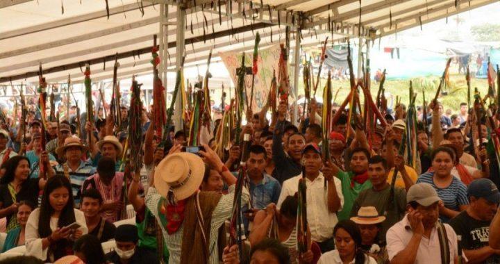 """""""La unidad nos permite construir el territorio y el plan de vida"""" en Colombia"""