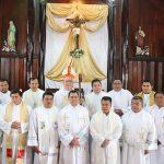 Programa de la  Semana Santa en la Catedral Protempore de Siuna, Nuestro Señor de Esquipùlas