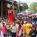 Santo viacrucis en la Diocesis de Siuna, Caribe Norte de Nicaragua