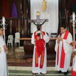 Las siete palabras, catedral Nuestro señor de Esquipulas, Siuna, Costa Caribe Norte de Nicaragua