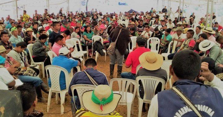 Pueblos indígenas de Colombia firmes en defensa de la vida, el territorio, la democracia, la justicia y la paz