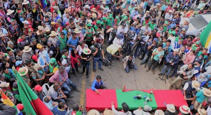 Minga social del suroccidente desbloquea la vía panamericana pero continúa en asamblea permanente en Colombia