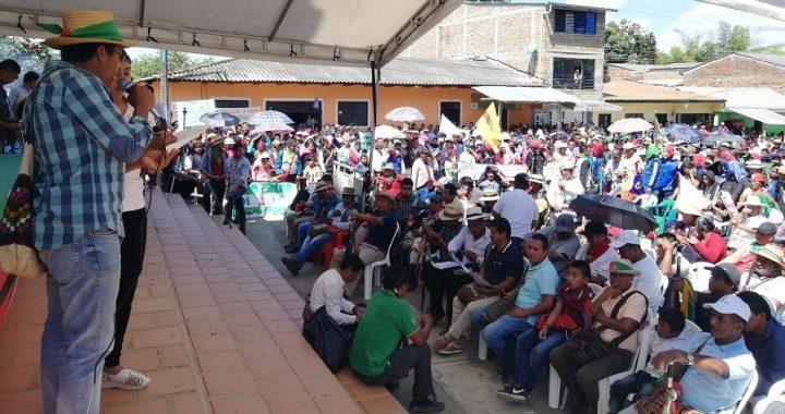 La minga continúa firme en la resistencia por la defensa de la vida y el territorio, hasta que seamos escuchados y escuchadas, Colombia