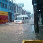 Lluvias provocan inundaciones en el Caribe de Nicaragua y persiste amenaza para varios municipios