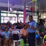 Hablan sobre seguridad ciudadana en Bonanza