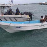 Distrito Naval del Caribe recata a cuatro pescadores en Cayos Miskitos