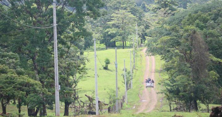 Inauguran proyecto de electrificación en la comunidad Bilampi del municipio de Bocana de Paiwas