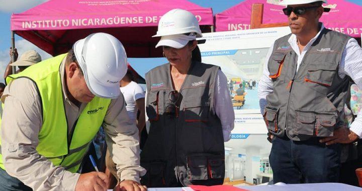 Bilwi celebra inicio de construcción de hospital regional