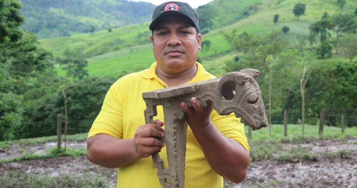 Encuentran  pieza precolombina en comunidad de Siuna