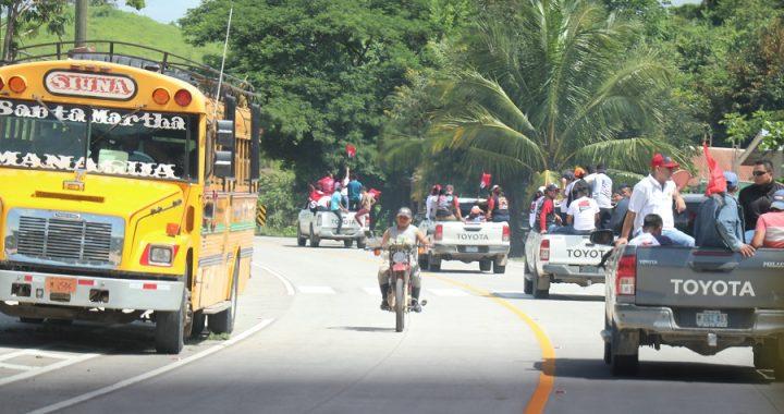 Anuncian construcción de carretera Siuna-Rosita