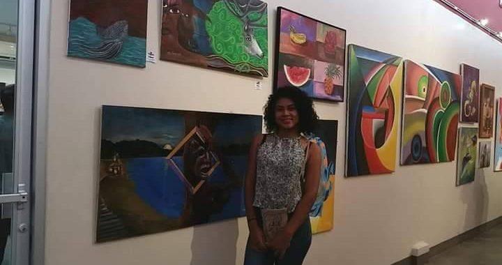 Virginia Thathum y Dorian Jeff presentaron sus obras en Centro Cultural Nicaragüense-Norteamericano