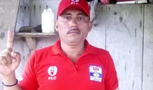 Matan a machetazos a lider del PLC en el Tortuguero