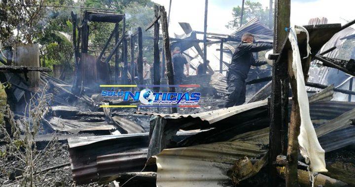 Incendio consume vivienda y todas las pertenencias en Bluefields