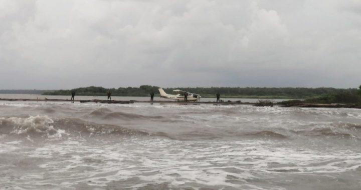 Avioneta se desploma en Cabo Gracias a Dios
