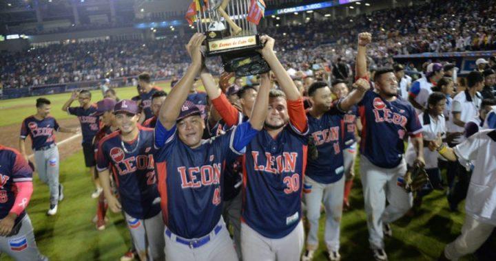 León se coronó campeón en el estadio del Bóer en Managua