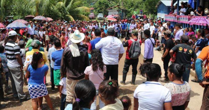Llevan energía eléctrica a Kukalaya, Caribe Norte