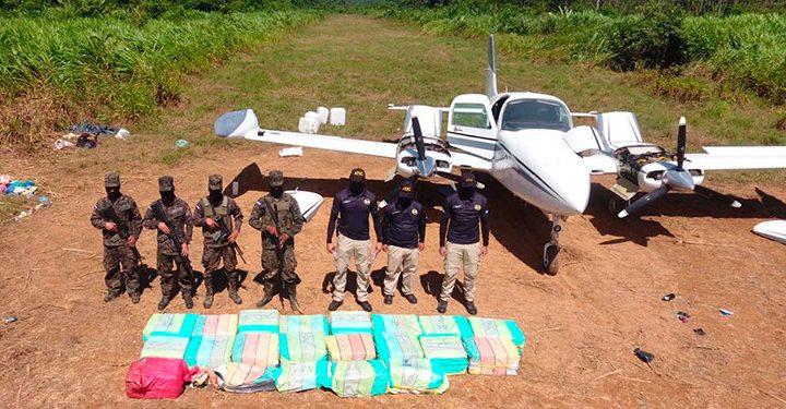 Avioneta con cocaína aterriza Brus Laguna, Gracias a Dios en Honduras