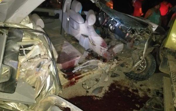 Un muerto y cuatro lesionados en accidente de tránsito en Mulukukú
