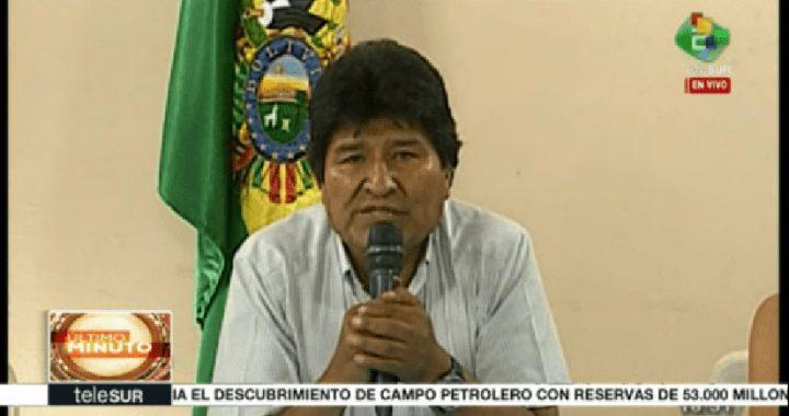 Evo Morales y su vicepresidente renunciaron en Bolivia