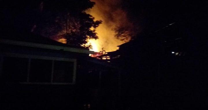 Incendio deja pérdidas materiales en Siuna
