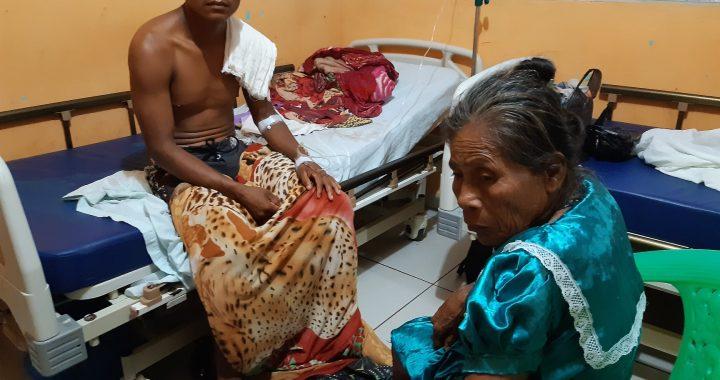 Dos heridos en conflicto por tierras indígenas en Bonanza