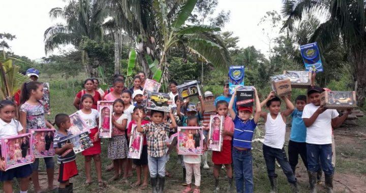 Juguetes llenan de felicidad hogares del Caribe de Nicaragua