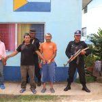 Policía detiene a tres vinculados con diferentes delitos