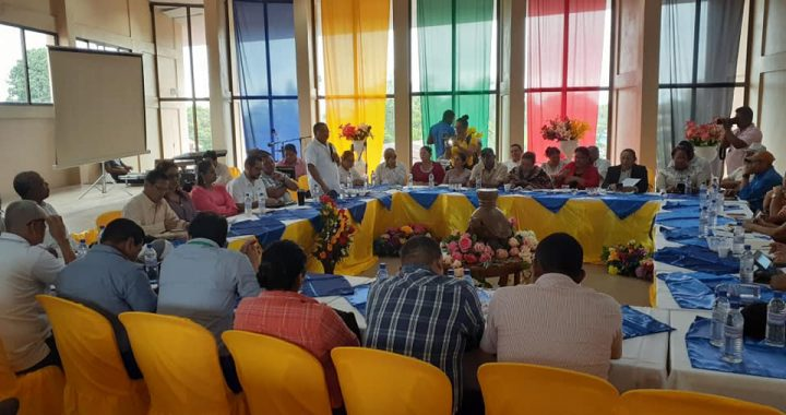 Regional Transportation Council meeting in Bluefields