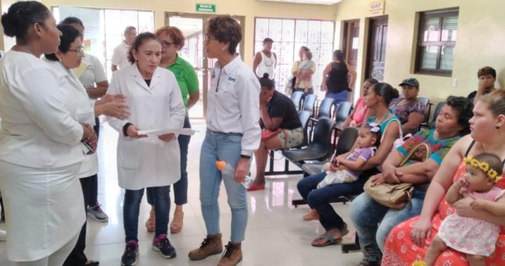Autoridades de salud visitan hospital de Bluefields