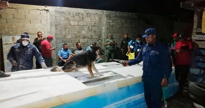 Encuentra 109 kilos de coca en embarcación hondureña capturada en enero