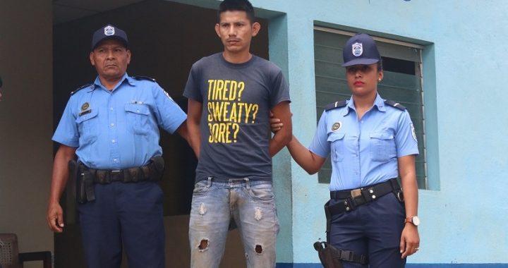 Un detenido por homicidio en Siuna