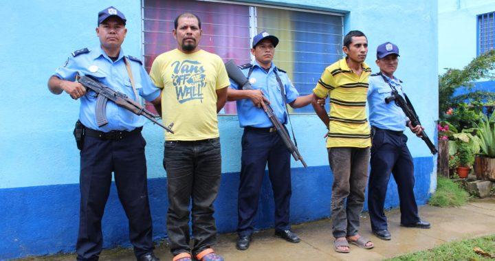 Dos detenidos, cinco armas de fuego, municiones y ropa camufle ocupadas en Siuna