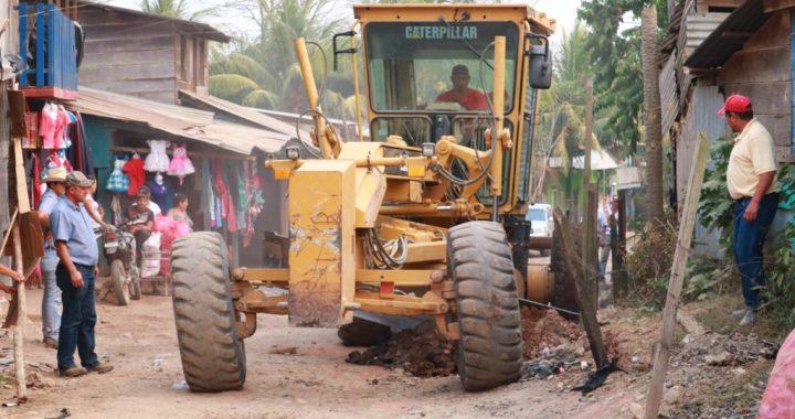 Mejoran vía de acceso a la comunidad de Santa Juna en Siuna