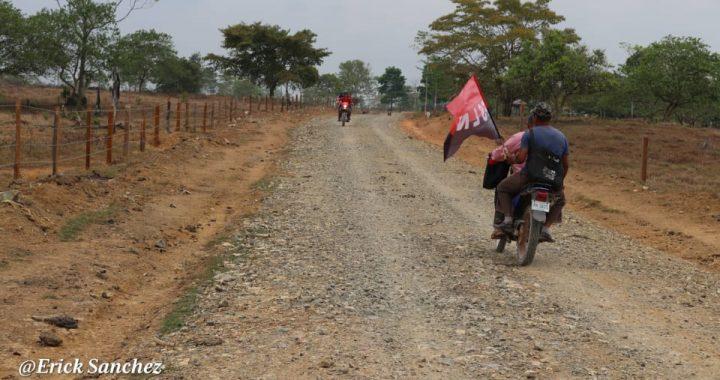 Más carreteras en comunidades de Rosita