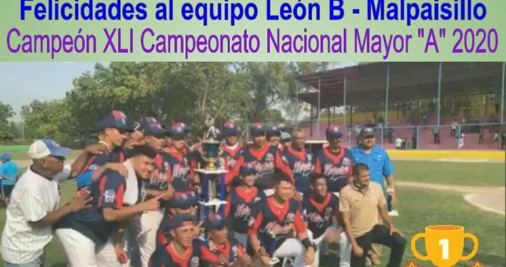 Leon se corona campeón del campeonato nacional al vencer 2×0 a Managua