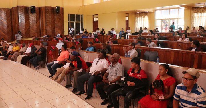 Sesión solemne reconoce a deportistas y presentan informe del Consejo y Gobierno Regional